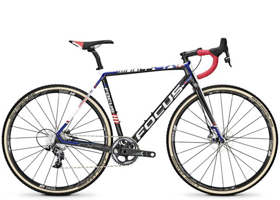 Vélo Focus light gross fo16 mares cx disc force